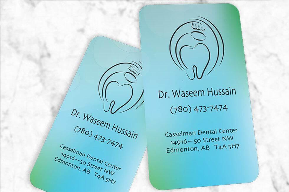 Graphic-Design-Logo-Design-Business-Card-Design-Dr.-Waseem-Dental-Business-Cards