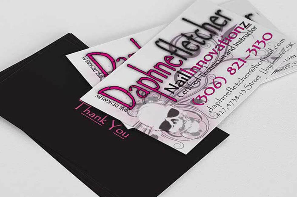 Nail Innovations Business Card Design