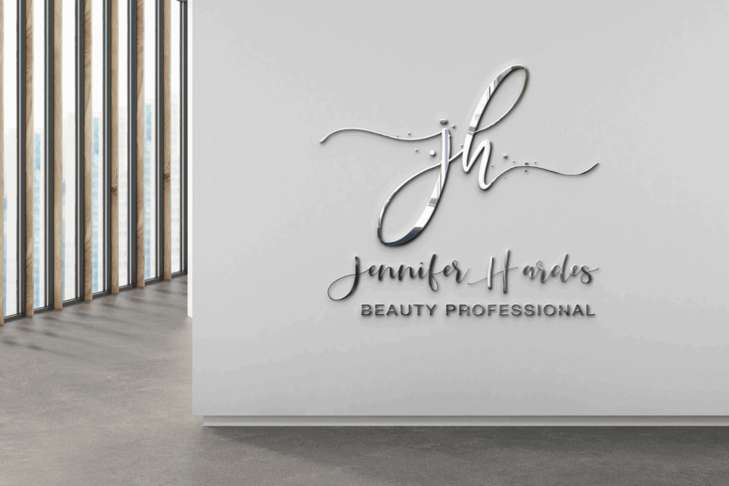 Graphic-Design-Logo-Design-JH-Beauty-Pro-Lloydminster-Logo